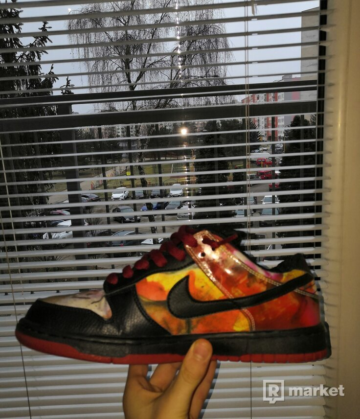 Nike sb dunk pushead 1 (rare)