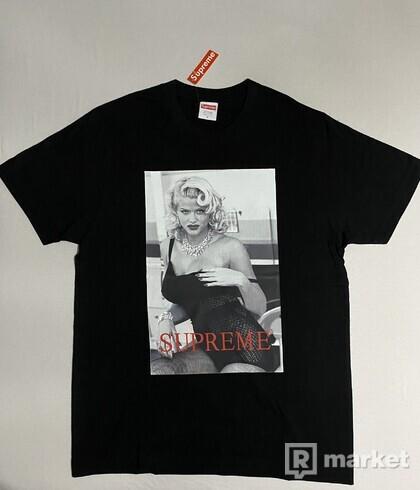 Supreme Anna Nicole Smith Tee Black