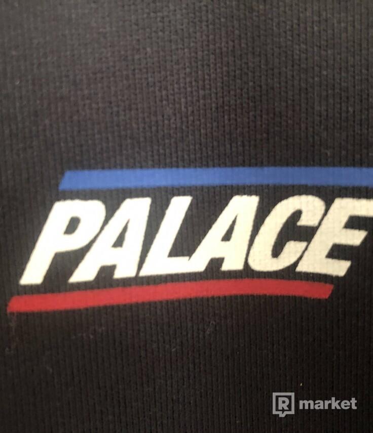 palace basically crewneck washed black