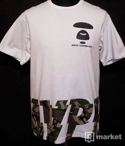 *A bathing ape Aape tee