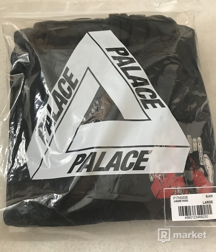 Palace Jheeze Hoodie Black,Navy,Gray