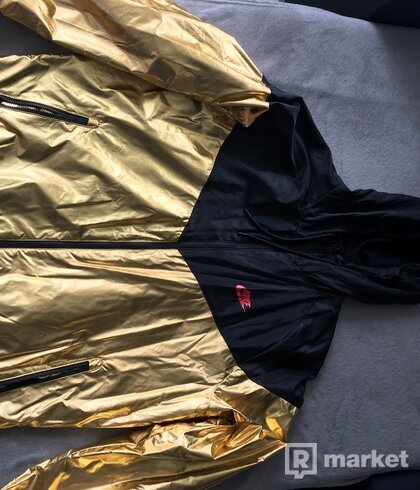 Nike-Metallic- Windrunner mens/gold/black/