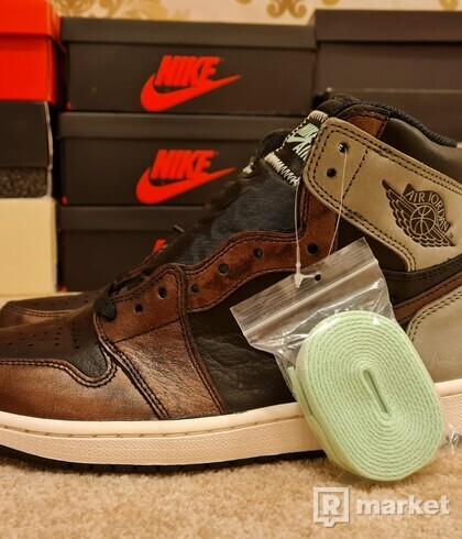 Nike Air Jordan 1 Retro High Patina Rust Shadow