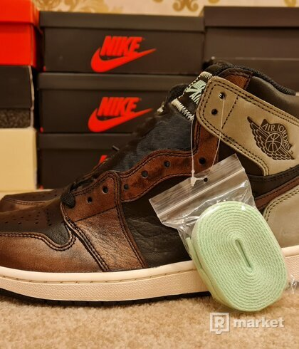 Nike Air Jordan 1 Retro High Patina Rust Shadow