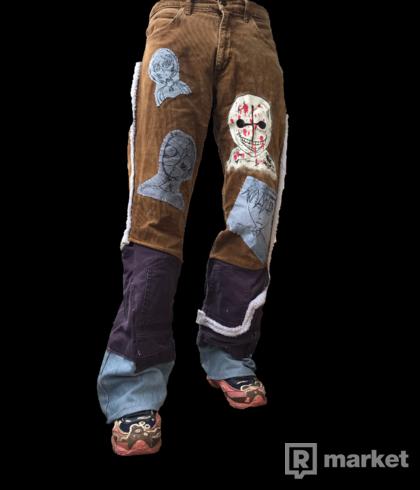 Custom lee pants