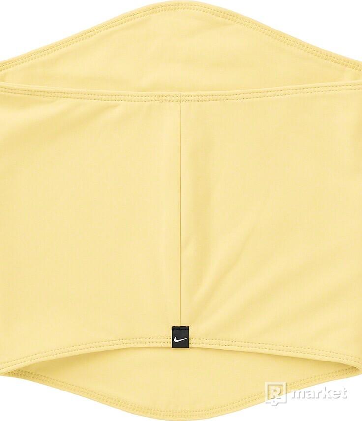 Supreme/Nike Neck Warmer Yellow