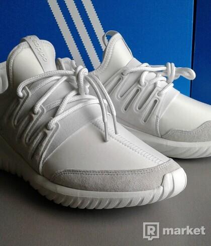 Adidas Tubular Radial white