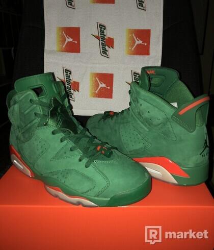 Air Jordan 6 Green Gatorade