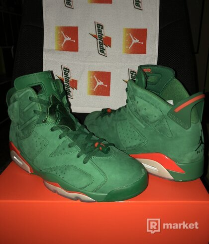 Air Jordan 6 Green Gatorade