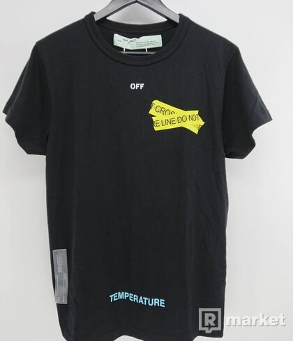 Off-White Firetapes tee