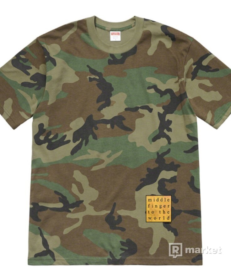 Supreme Middle Finger To The World Tee