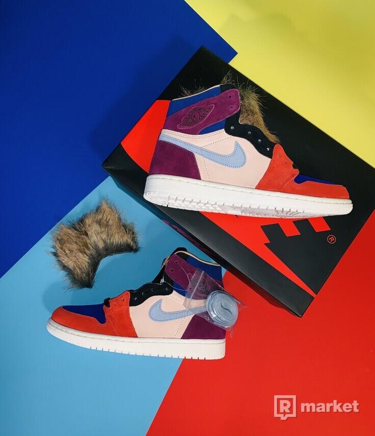 premium selection ca025 f242e Dámské boty Nike Jordan 1 Retro High Aleali May Court Lux EUR 40