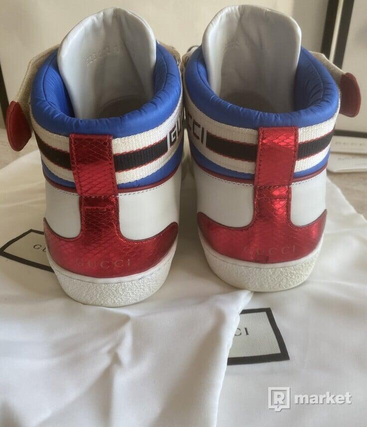 Gucci stripe ace hightop