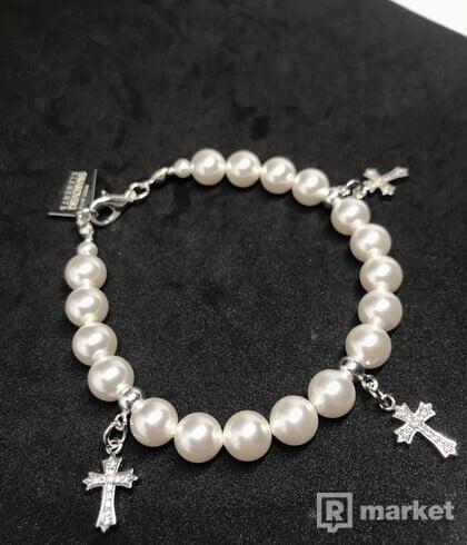 Swarovski perlový bracelet