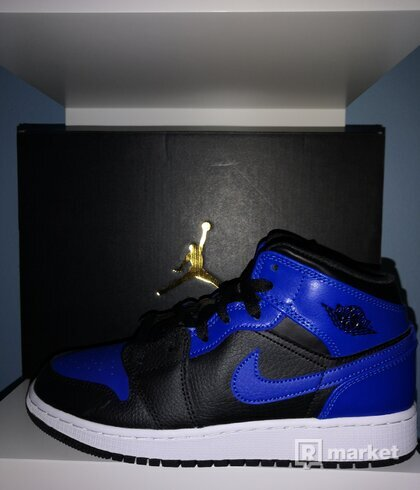 Jordan 1 Mid Royal 2020 (GS) All sizes