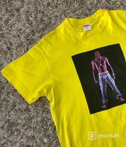 "Supreme ""Tupac Hologram"" Tee yellow"