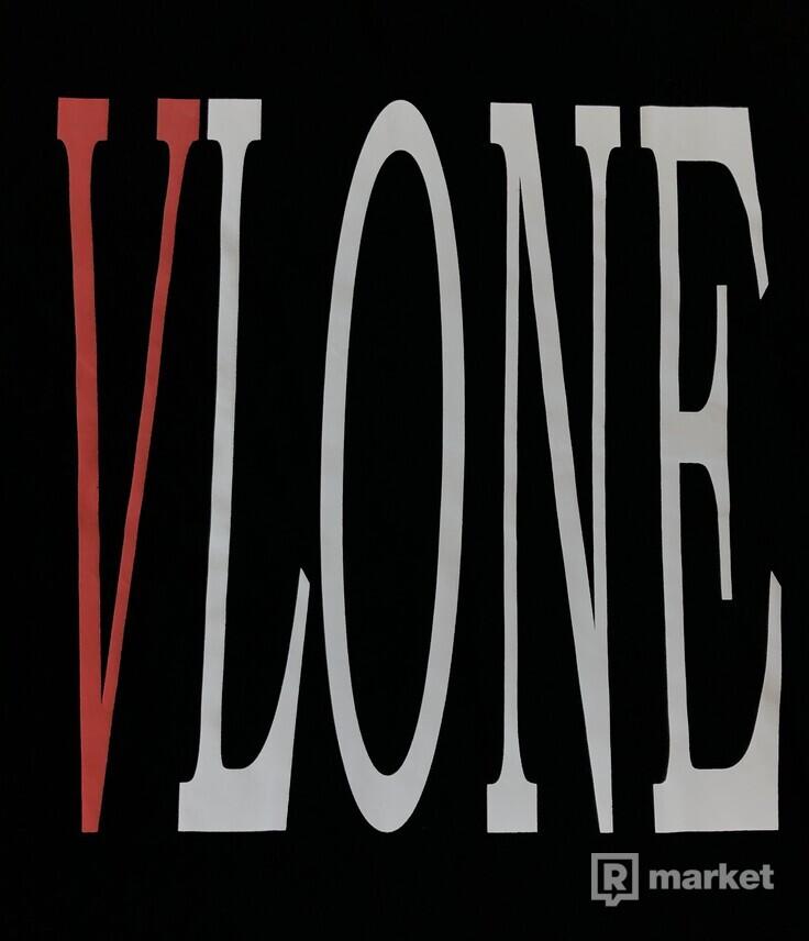 Vlone staple tee - Black/Red