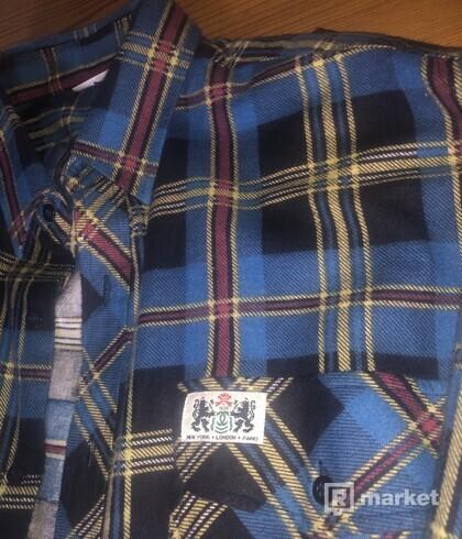 Chanel vintage flannel shirt