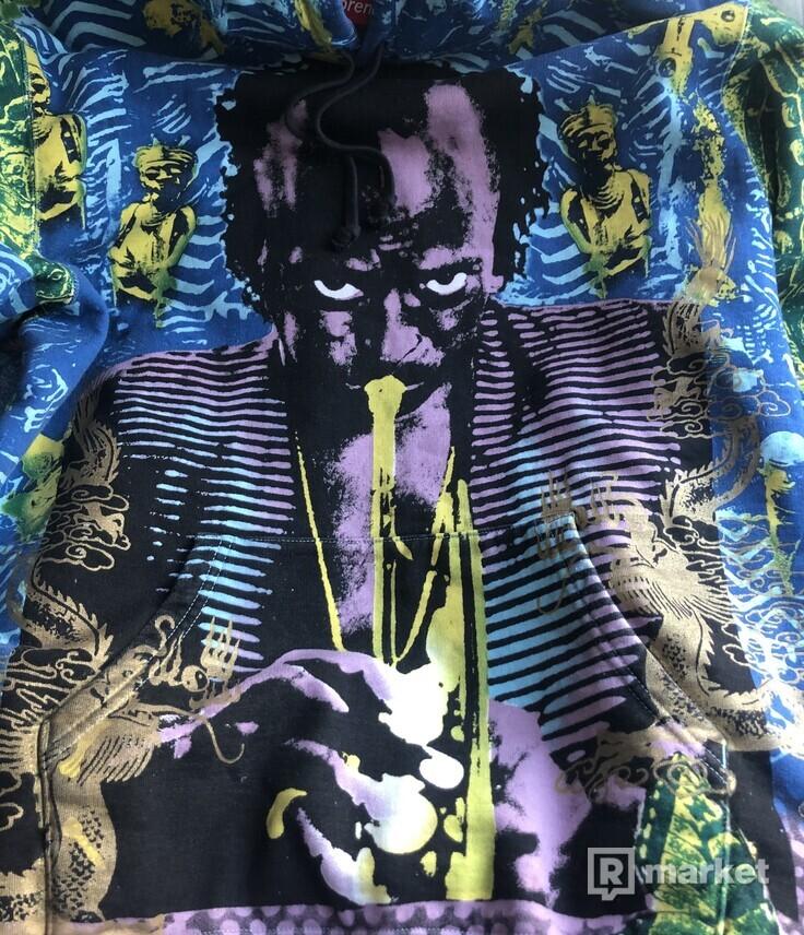 Supreme Hoodie Miles Davis
