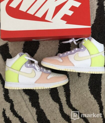Nike Dunk High Lemon Twist