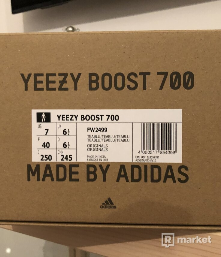 Predam Yeezy 700 V1 Teal Blue