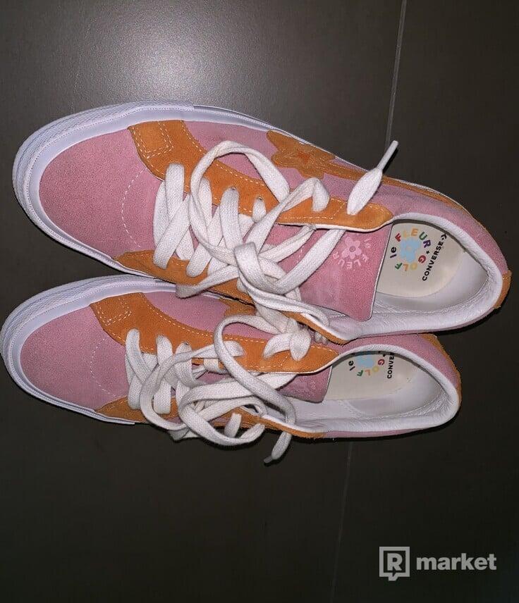 Golf le fleur pink/orange