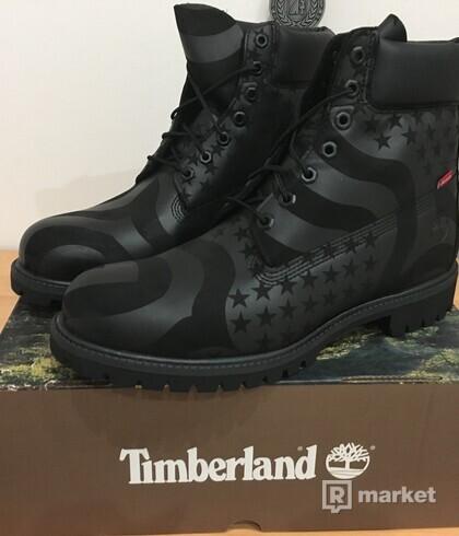 Supreme/Timberland Stars and Stripes EU46/UK11,5