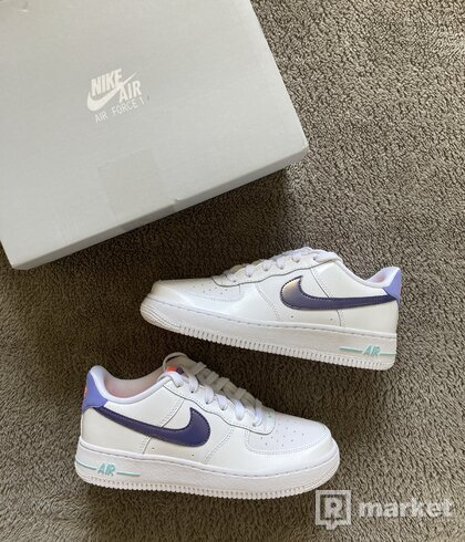 Nike Air Force 1 white/purple
