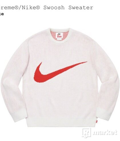 Supreme/Nike Swoosh Sweater