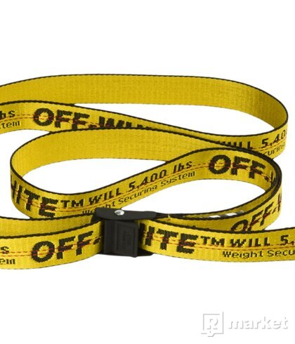 Off white mini industrial Belt