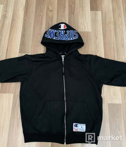 Supreme x Champion Zip Up hoodie