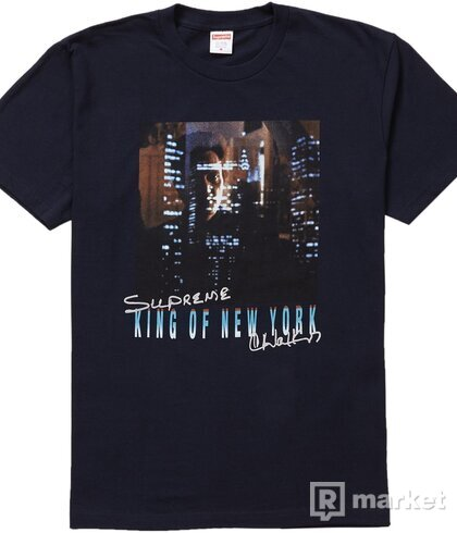 Supreme King of New York Tee Navy