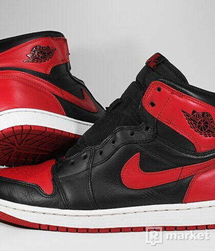 "Air Jordan Retro 1 High OG ""Bred"" 2013"