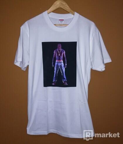 Supreme Tupac Tee (white)