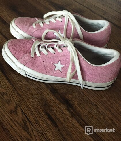 Converse One Star Pink Suede