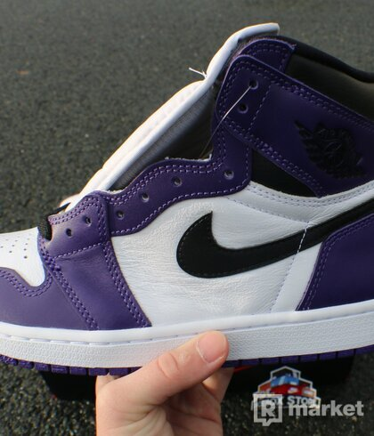 Jordan 1 High Court Purple