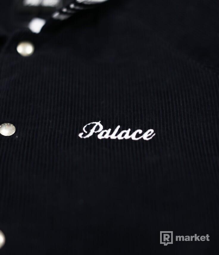 Palace Palazzo Cord Bomber Jacket Navy