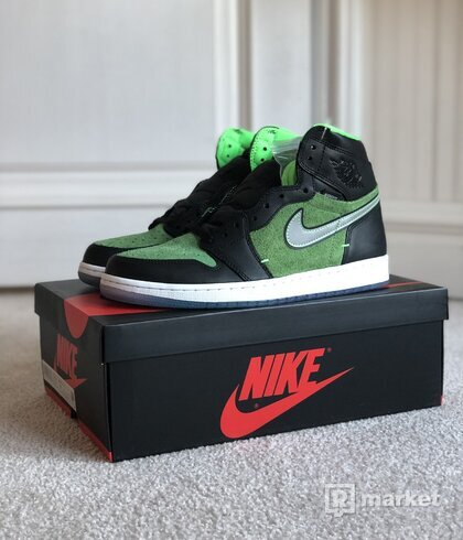 Jordan 1 Zoom Black Green