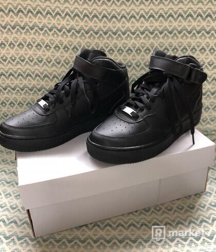 Nike  AF1 Mid Black