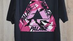 Palace Tri Camo Tee Navy