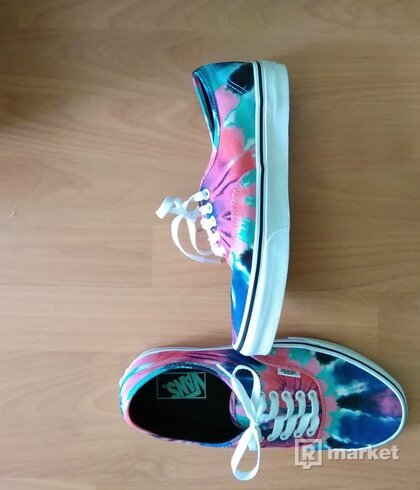 Vans Authentic Tie Dye Multi/True White