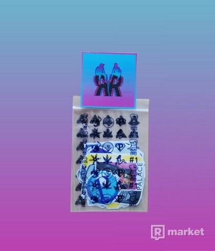 PALACE AUTUMN 2019 STICKER PACK DS