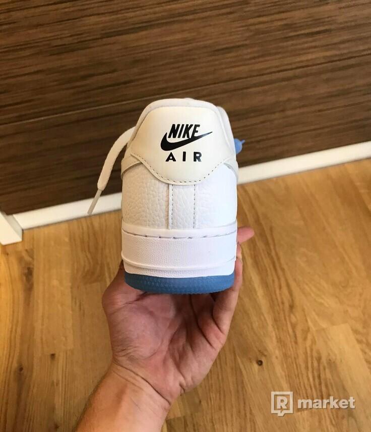 Nike air force 1 UV reactive swoosh