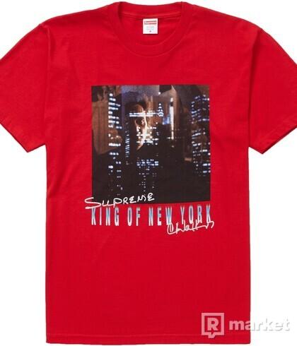 SUPREME KING OF NEW YORK TEE RED