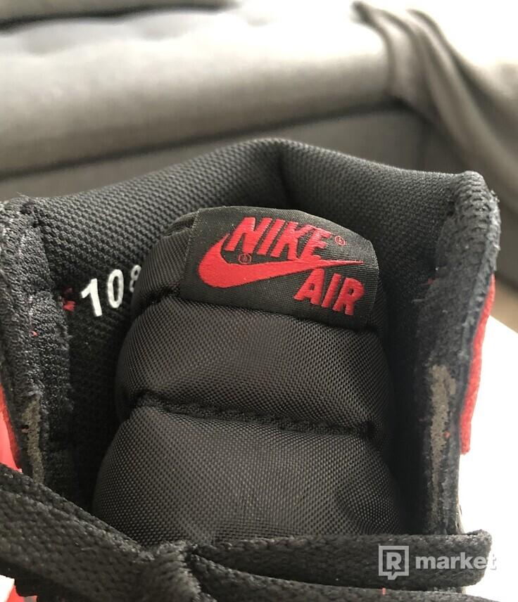 Air Jordan 1 Banned 2016 - US 10
