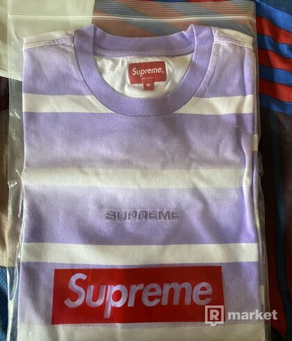 Supreme fade stripe