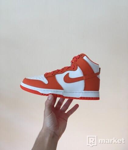 Nike Dunk High Syracuse [38.5]