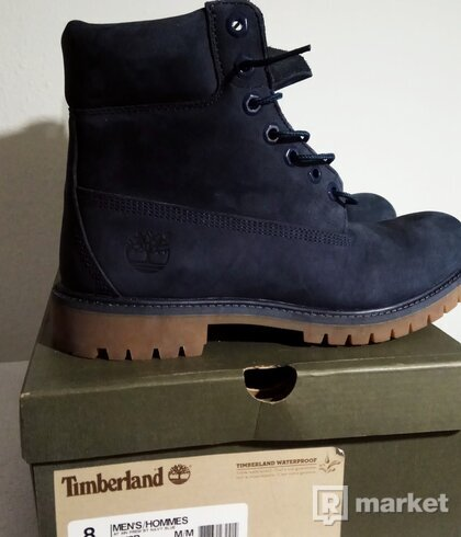 Timberland AF 6IN PREM BT NAVY BLUE