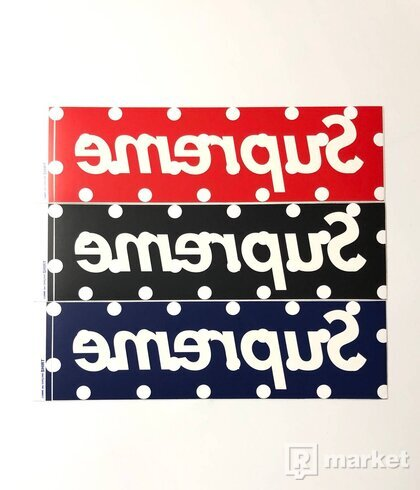 Supreme CDG Box Logo Sticker