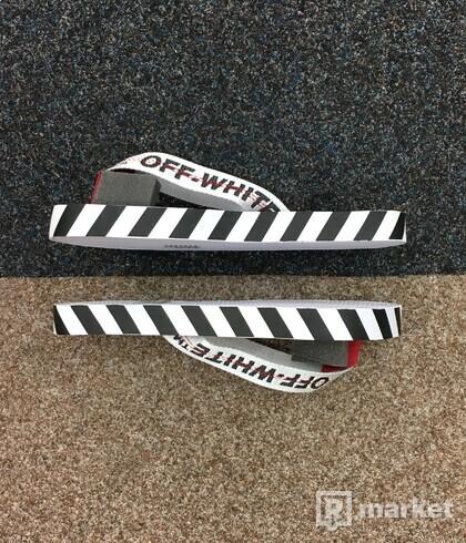 Off-White Flip Flops